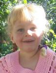 Sansa, Age 3 & 1/2