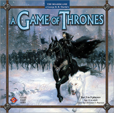 <i>A Game of Thrones- <br />The Board Game</i>, <br />Fantasy Flight Games <br />2003 (US),