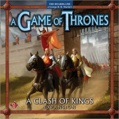 <i>A Clash of Kings</i> expansion,<br /> Fantasy Flight Games <br />2004 (US),