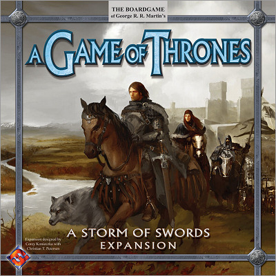 <i>A Storm of Swords</i> expansion,<br /> Fantasy Flight Games <br />2006 (US),