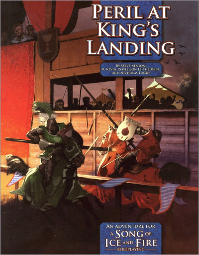 <i>Peril at King's Landing</i><br />game book, English<br /> <i>Green Ronin</i> <br />2010 (US),