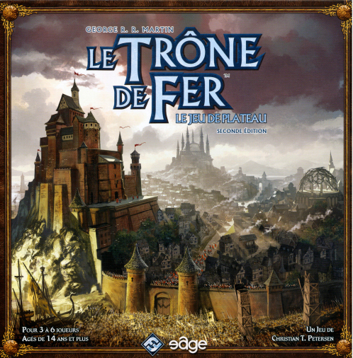 <i>A Game of Thrones - <br />The Board Game</i>, <br />Second Edition, FFG & <br />Eage Entertainment 2011