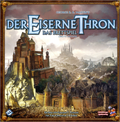 <i>A Game of Thrones - <br />The Board Game</i>, <br />Second Edition, FFG & <br />Heidelbwerger Speileverlag 2011