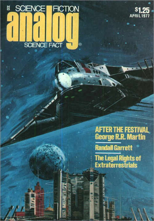 <i>Analog</i> Serialization, <br/>April 1977,