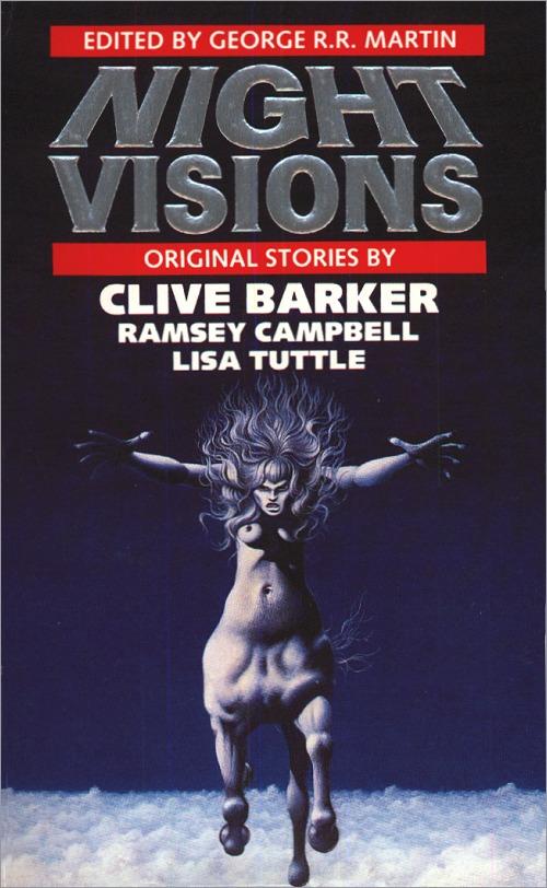 <i>Night Visions</i> Legend Paperback (UK), 1987,