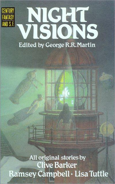 <i>Night Visions</i> Century Hardcover (UK), 1987,