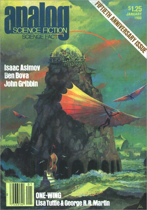 <i>One-Wing</i>, <br /><i>Analog</i>, January 1980