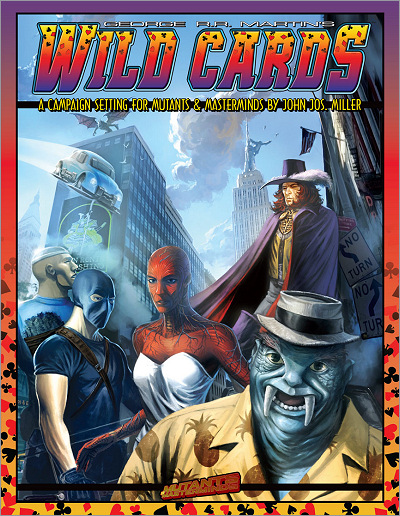 <i>Wild Cards Campaign Setting</i>,<br /> Green Ronin HC <br />2008 (US),