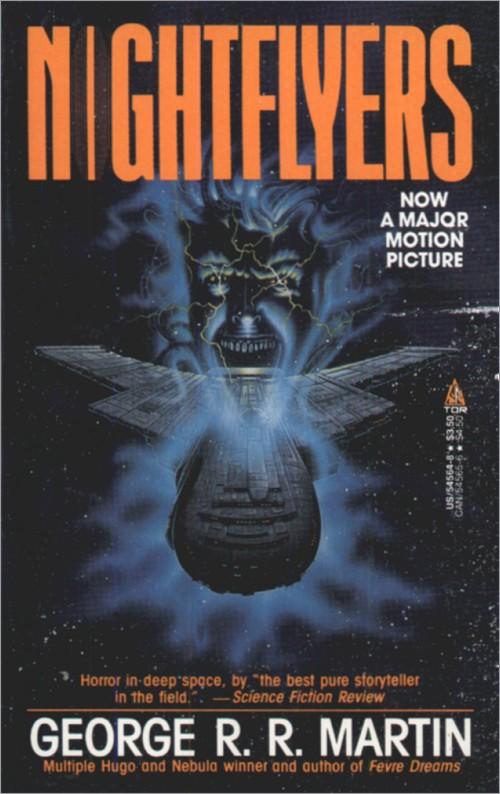 <i>Nightflyers</i>,<br />Tor Paperback 1987,