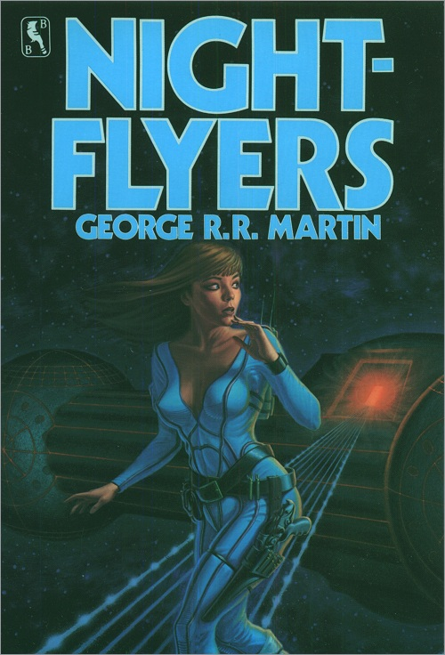 <i>Nightflyers</i>,<br />Bluejay Paperback, 1985 (US)