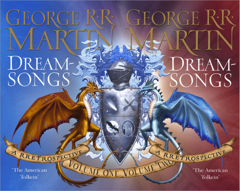 <i>Dreamsongs</i>, <br /> (Combined cover Vols. I and II) <br />Gollancz HC 2007 (UK)