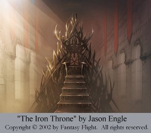 The Iron Throne by Jason Engle