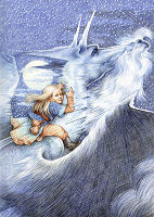 "TOR TO PUBLISH ILLUSTRATED ""ICE DRAGON"""
