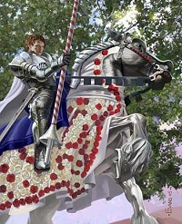 knight of flowers