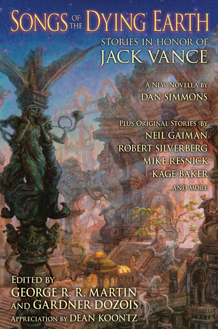 JACK VANCE TRIBUTE GOES TO PRESS