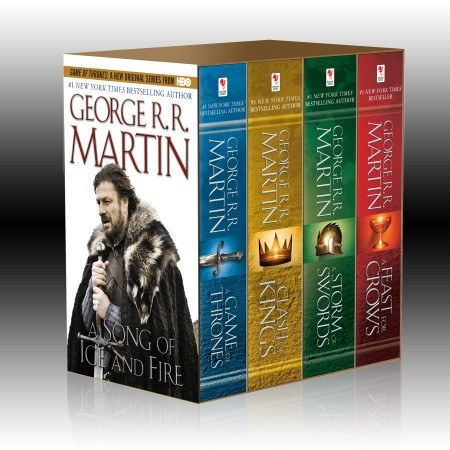 A Song of Ice and Fire Box Set (Books 1-4)