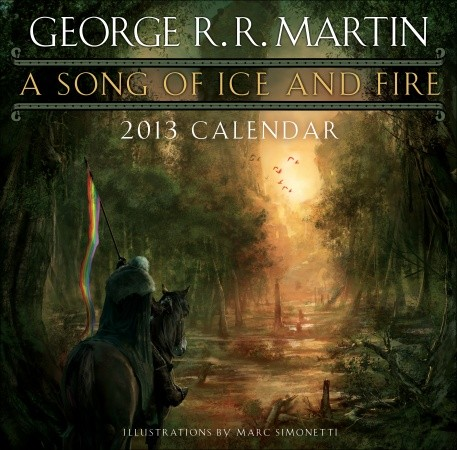 A Song of Ice and Fire, 2013 Wall Calendar