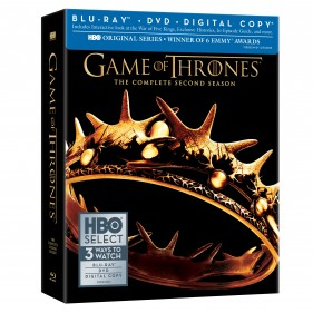 Game of Thrones: The Complete Second Season Blu-ray with HBO Select