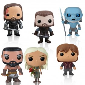 Game of Thrones Pop! Television Figurines [Set of 6]