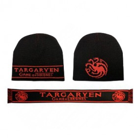 Game of Thrones Targaryen Beanie + Scarf Set