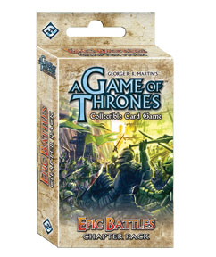 A Game of Thrones: The Card Game – Epic Battles (Chapter Pack)