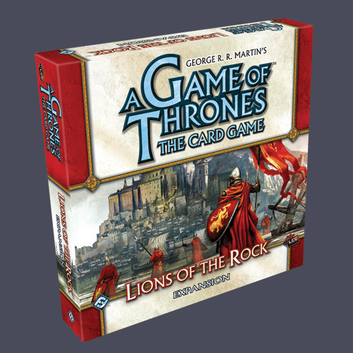 A Game of Thrones: The Card Game – Lions of the Rock
