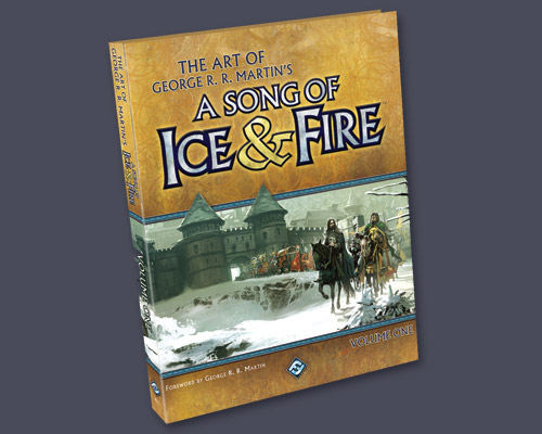 The Art of George R.R. Martin's A Song of Ice and Fire Vol 1