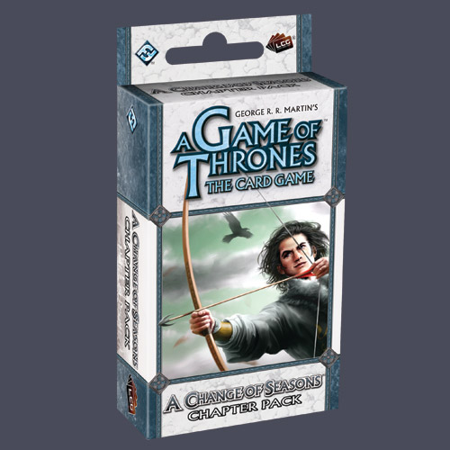 A Game of Thrones: The Card Game — A Change of Seasons Chapter Pack