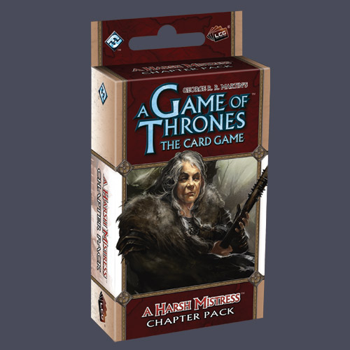 A Game of Thrones: The Card Game — A Harsh Mistress Chapter Pack