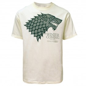 Game of Thrones Stark T-Shirt [Cream]