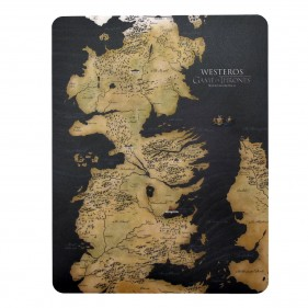 Game of Thrones Westeros Mousepad