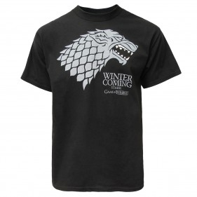 Game of Thrones Stark T-Shirt [Black]