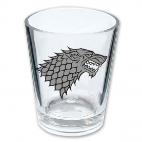 Game of Thrones House Stark Shot Glass