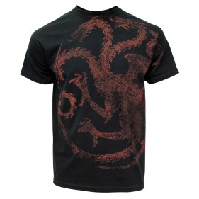 Game of Thrones Distressed Targaryen Sigil T-Shirt