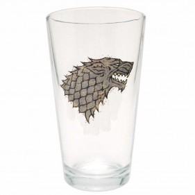 Game of Thrones Distressed House Stark Pint Glass