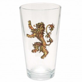 Game of Thrones Distressed House Lannister Pint Glass