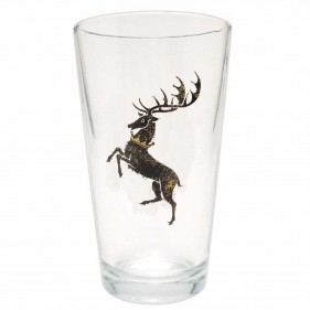 Game of Thrones Distressed House Baratheon Pint Glass