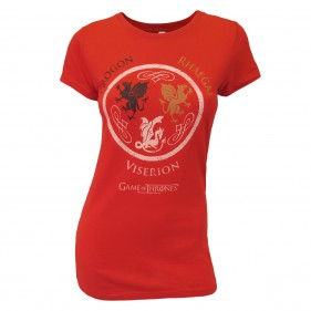 Game of Thrones Dragon Names Women's T-Shirt