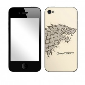 Game of Thrones House Stark Distressed Phone & MP3 Player Skins