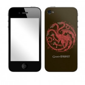 Game of Thrones House Targaryen Distressed Phone & MP3 Player Skins