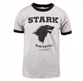 Game of Thrones Stark Winterfell Ringer T-Shirt