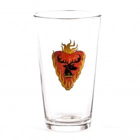 Game of Thrones Distressed Stannis Baratheon Pint Glass