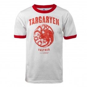 Game of Thrones Targaryen Valyria Ringer T-Shirt