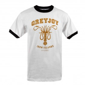 Game of Thrones Greyjoy Iron Islands Ringer T-Shirt