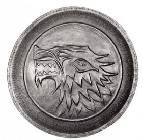 Game of Thrones House Stark Shield Pin