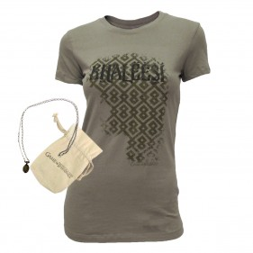 Game of Thrones Khaleesi Women's T-Shirt + Dragon Egg Necklace Set