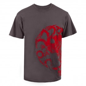 Game of Thrones Targaryen Distressed Flock T-Shirt