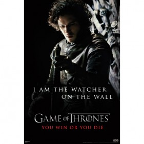 Game of Thrones Jon Snow Poster [24 x 36]
