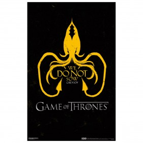 Game of Thrones House Greyjoy Poster [11x17]