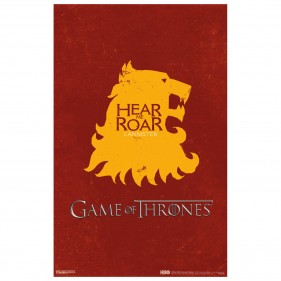 Game of Thrones House Lannister Poster [11×17]